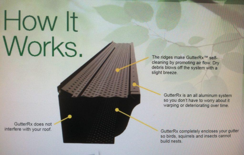 how seamless gutters work