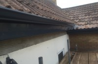 seamless guttering in Anthracite