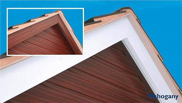 pvc mahogany cladding