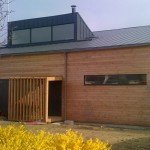 anthracite seamless gutters