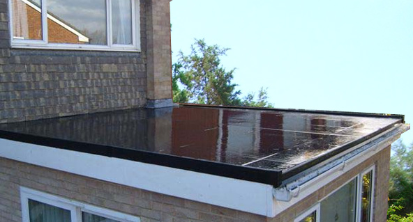 Flat Roof Methods And Styles Bespoke Guttering