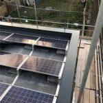 aluminium copings on house in Surrey