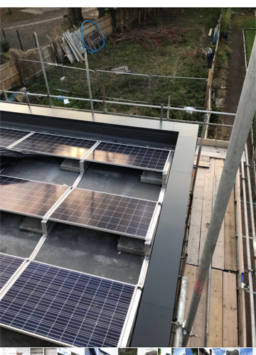 aluminium coping install