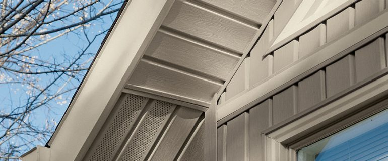 soffits white contempory